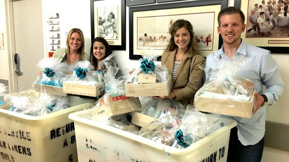 Gift Baskets to Patients of Loma Linda University Childrens Hospital