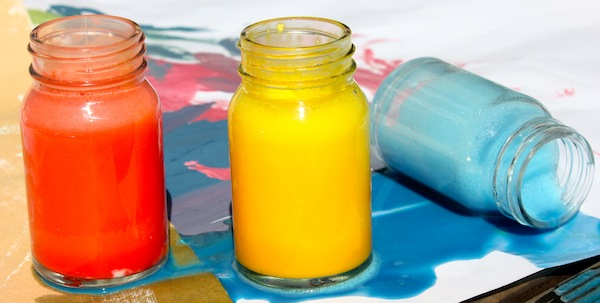 Make Your Own Kid-Safe Finger Paint