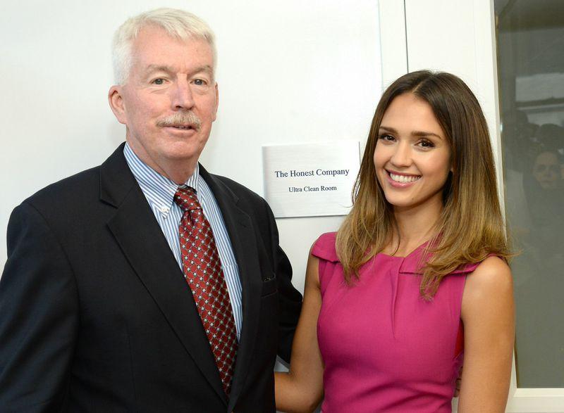 Dr. Philip Landrigan of Mt. Sinai and Jessica Alba of The Honest Company