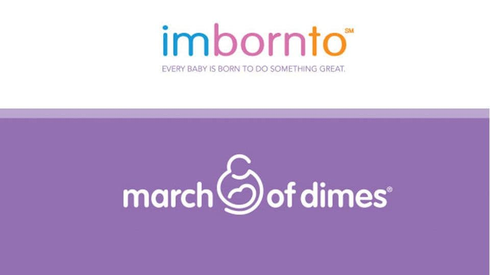 March of Dimes imbornto campaign