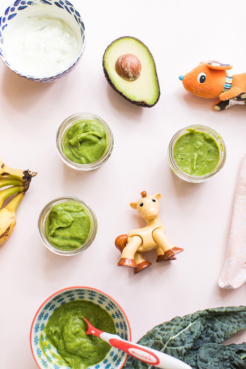 Homemade Baby Food for Spring