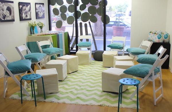 Pampering Lounge