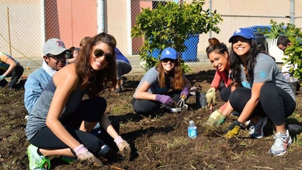 Volunteer Day Building Gardens with Garden School Foundation