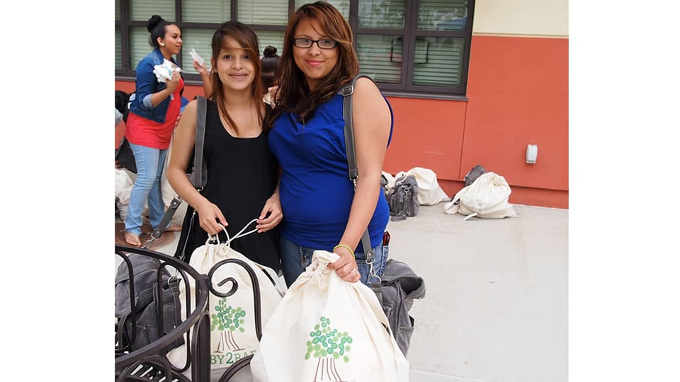 Baby2Baby to give Diaper Bags Diapers and Wipes to 90 pregnant teens