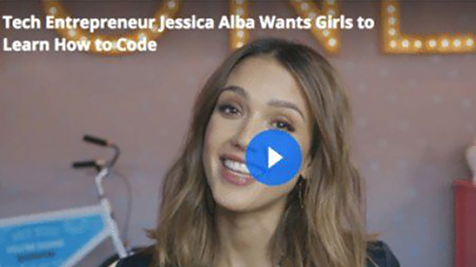 Jessica Encourages Girls to Try Coding