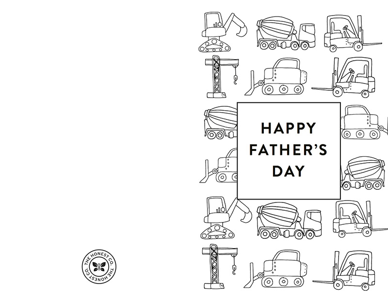Free Printable Father S Day Card Honest