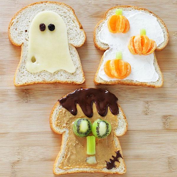 Treat Your Kids to Halloween Toast