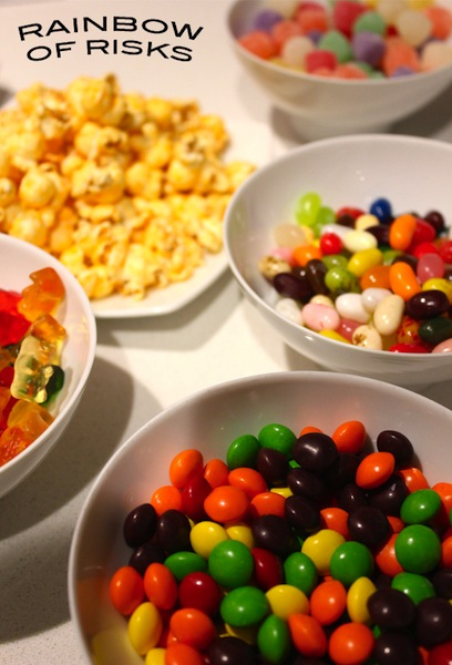 food with artificial coloring