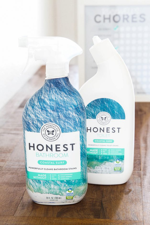 Cleaning with Kids (+ Free Printable Chore Chart!)