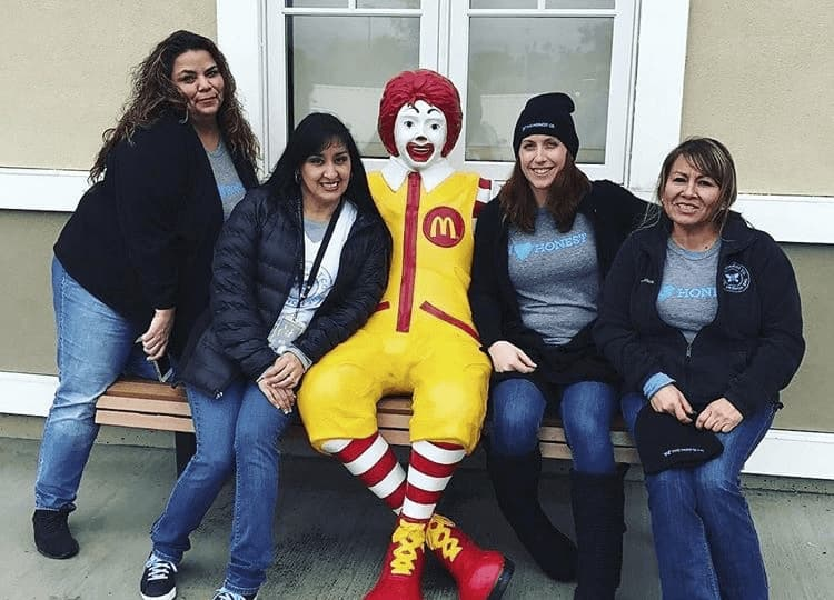 Honest at Ronald McDonald House