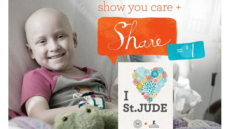 National Childhood Cancer Awareness Month Partnership with Saint Jude