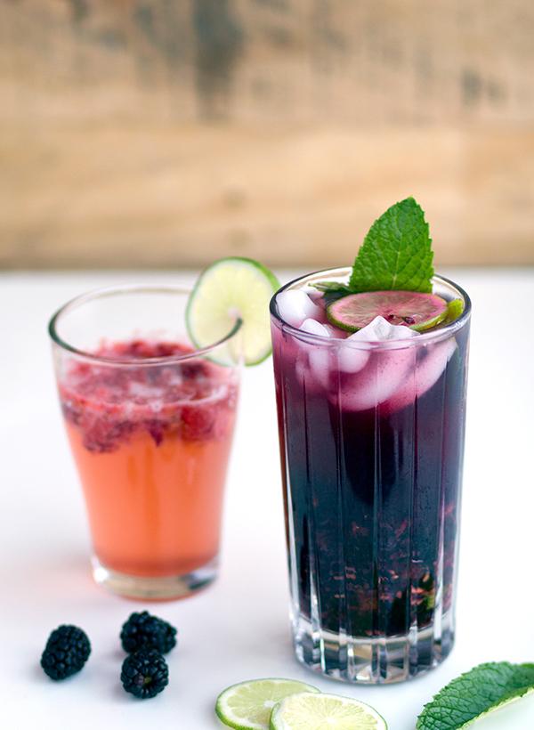 Berry Spritzer Mocktail