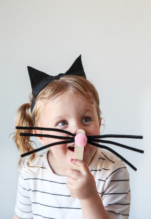 DIY Cat Costume for a Last-Minute Halloween Idea