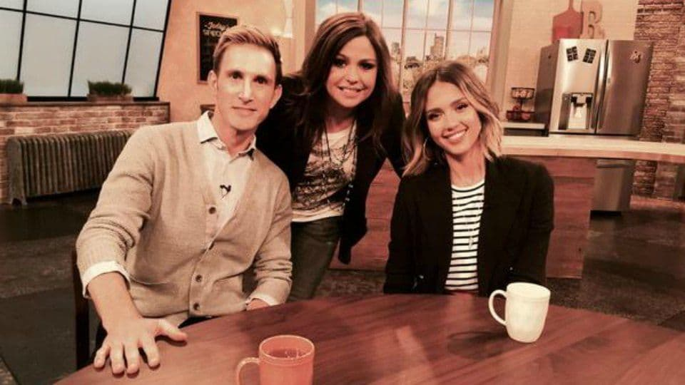 Jessica and Christopher Visit the Rachael Ray Show