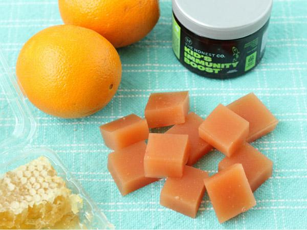 Orange-Honey Fruit Snacks