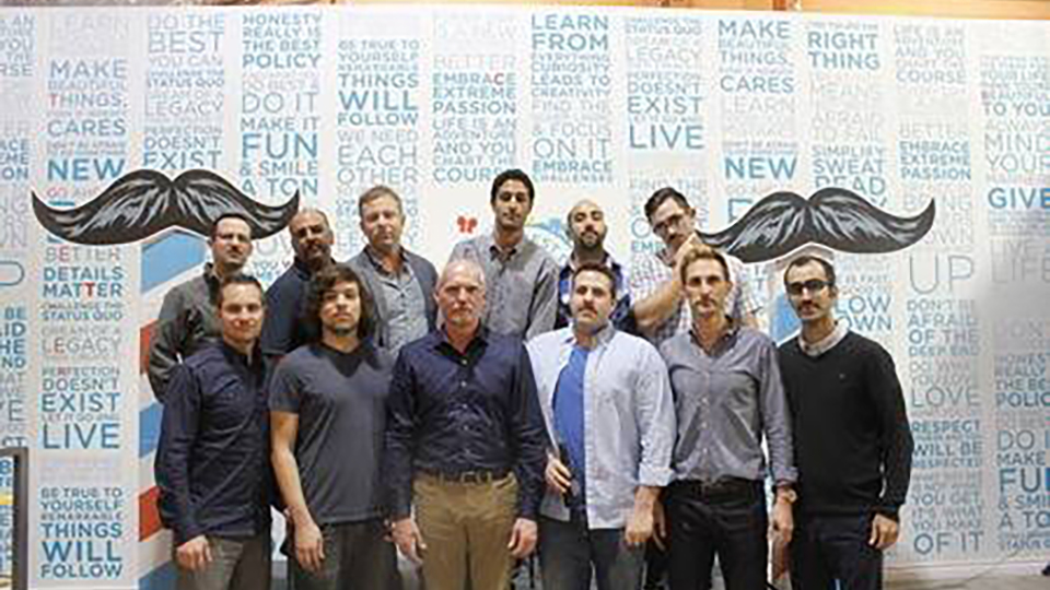 Honest Employees Participate in Movember Efforts