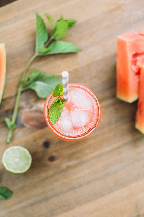Savor Summer with a Watermelon Honey Lime Refresher