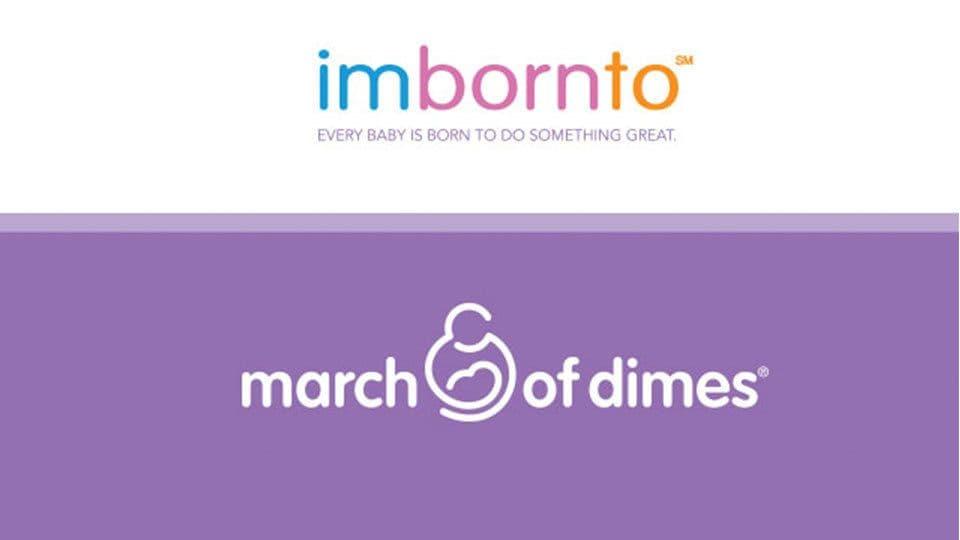 March of Dimes imbornto campaign