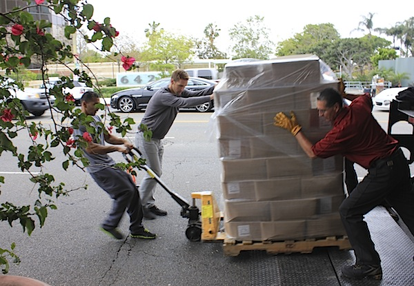 Christopher Gavigan Moving Boxes