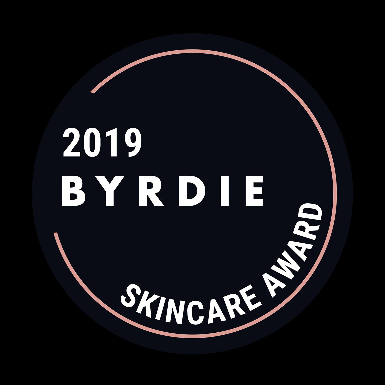 2019 Byrdie Skincare Award