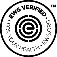 EWG: When you see the EWG VERIFIED™ mark on a product, you can be sure it's free from EWG's chemicals of concern and meets strict standards for your health.