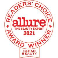 Allure - The Beauty Expert, Readers' Choice Award Winner in Clean Beauty 2021