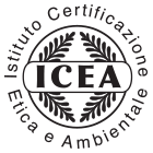 "ICEA: ICEA, Environmental and Ethical Certification Institute, is accredited by the Organic Accreditation Services ""for the scope of certifying organic textile products,"" and obtained the authorization of Global Standard GmbH for the certification of products obtained in accordance to GOTS."