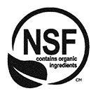 NSF Certified Organic Ingredients
