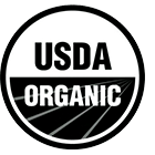 USDA Organic: Certified USDA Organic products contain a minimum of 95% organic ingredients, and are produced in a way that fosters resourcefulness, balance, and biodiversity.