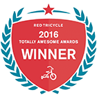 2016 Red Tricycle Totally Awesome Award